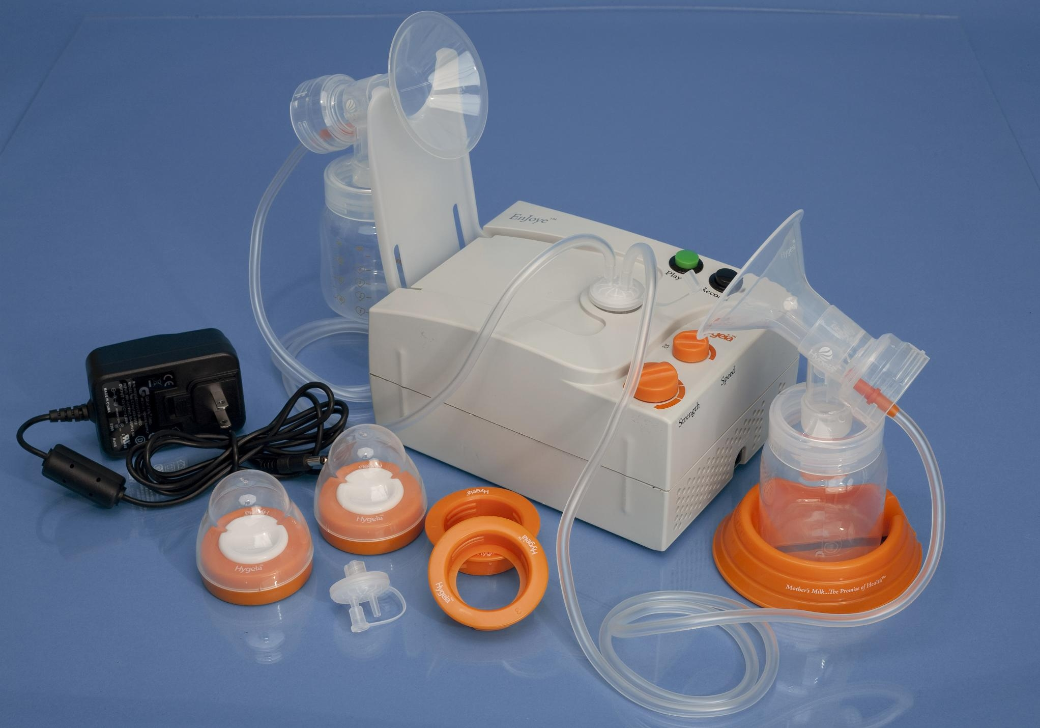 Hygeia Double Electric Breast Pump Dynquest Medical