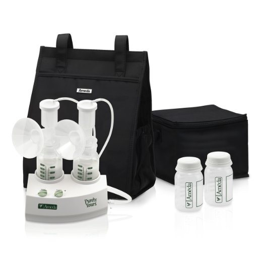 Ameda Purely Yours Double Electric Breast Pump Dynquest